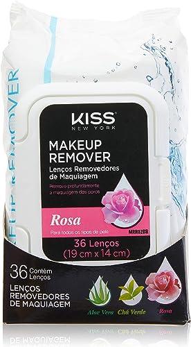 Lenço Demaquilante, Kiss New York, Rosa