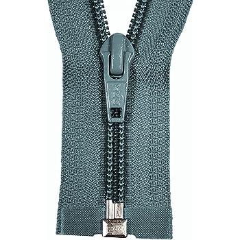 YKK Reißverschluss 1Wege schwarz teilbar 110cm lang 5mm Spirale