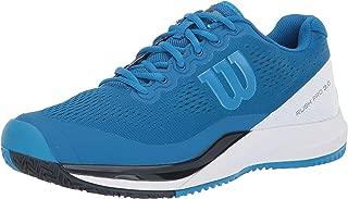Wilson RUSH PRO 3.0 Tennis Shoes, Imperial Blue/White/Brilliant Blue, 9.5