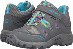 Merrell Kids Hilltop Mid Quick-Close Waterproof (Little Kid)