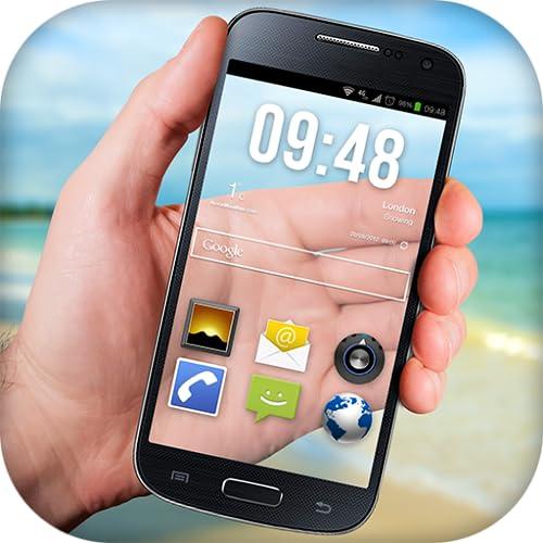 Transparente Handy-Bildschirm