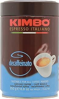 Best kimbo decaffeinated espresso Reviews