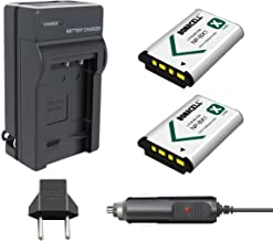 Bonacell NP-BX1 Battery and Charger Kit Compatible with Sony Cyber-shot Sony NP-BX1/M8, Cyber-Shot DSC-HX80, HX90V, HX95, HX99, HX350, DSC-HX50V, SC-HX300, FDR-X3000, DSC-RX1, DSC-RX1R, DSC-RX100 V, D