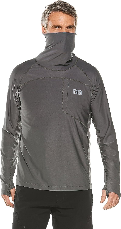 Coolibar Herren Angel-T-Shirt UPF 50+, Sonnenschutz
