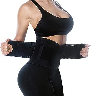 Waist Trainer for Weight Loss Women and Men Fat Burner Body Shaper Postpartum Belly Wrap Sweat Trimmer Corset Cincher