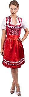 Bavarian Dirndl Dress 3pcs Set - Traditional & Modern Oktoberfest Dirndl Isabella