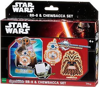 Epoch Traumwiesen Aquabeads 30149–Star Wars BB Set 8et Chewbacca, Kit de Bricolage pour Les Enfants