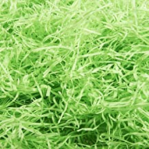 Paper Shred for Gift Bags, Paper Grass for Easter Baskets (Green, 14oz.)
