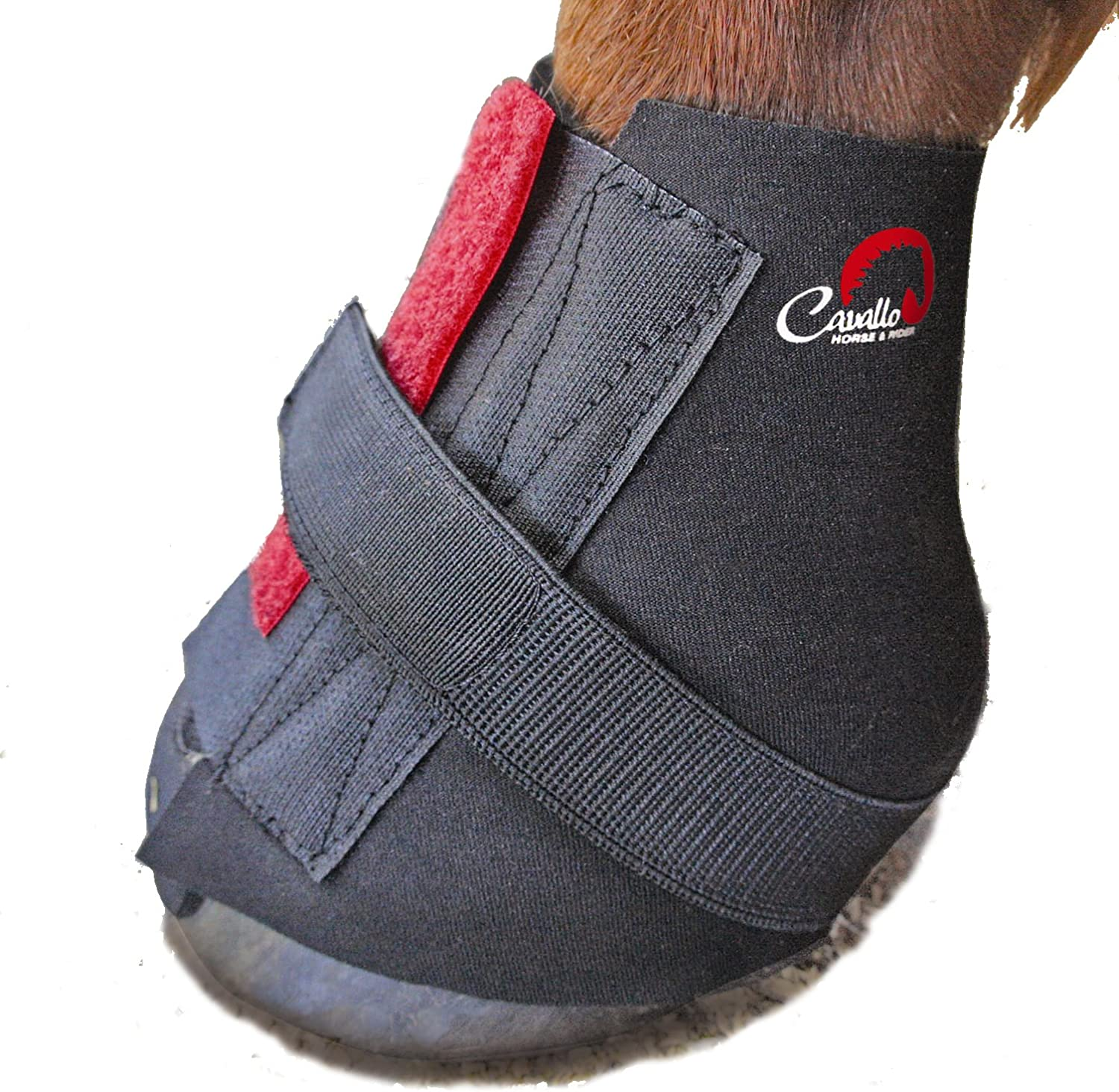 Cavallo Pastern Wrap for Horse Hoof Boot, Small, Black : Horse Hoof Care : Pet Supplies
