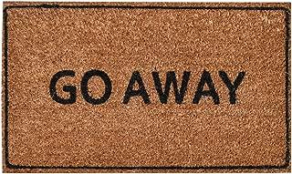Ninamar Door Mat Go Away Natural Coir – 29.5 x 17.5 inch
