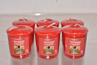 شمعة هابي مورنينج من يانكي كاندل من 6 شموع نذرية 49.6 جم