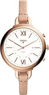 Fossil Q Women's Annette Sand Leather Hybrid Smartwatch FTW5021