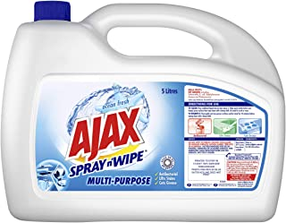 Ajax Spray n' Wipe MultiPurpose Antibacterial Disinfectant Household Cleaner Ocean Fresh Refill Value Pack Made in Austral...