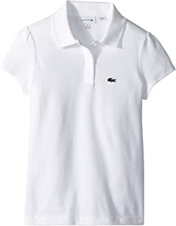 Lacoste Kids - Short Sleeve Mini Pique New Iconic Polo (Infant/Toddler/Little Kids/Big Kids)