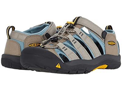 Keen Kids Newport H2 (Little Kid/Big Kid) (Timberwolf/Smoke Blue) Kids Shoes