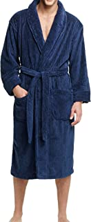 Men's Soft Touch Cozy Fleece Robe