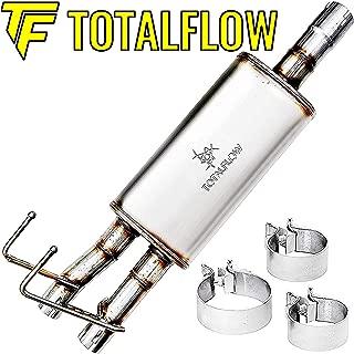 TOTALFLOW 414633 18 Inch Muffler 09-18 1500 Direct Fit Exhaust 2009-2018 Dodge Ram 1500-409 Stainless Steel