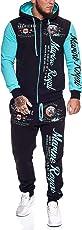 OneRedox | Herren Trainingsanzug | Jogginganzug | Sportanzug | Jogging Anzug | Hoodie-Sporthose | Jogging-Anzug | Trainings-Anzug | Jogging-Hose | Modell JG-512
