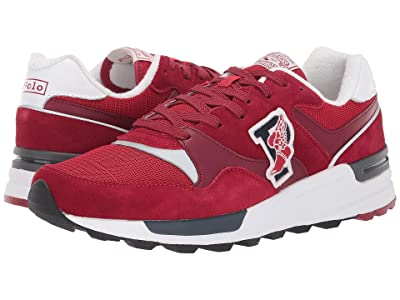 Polo Ralph Lauren Trackstar 100 (Holiday Red/Ralph Red Suede/Mesh) Men
