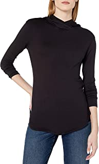 Amazon Brand - Daily Ritual Women's Supersoft Terry Long-Sleeve Hoodie Pullover