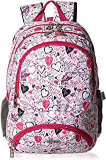First Kid Change School Backpack for Girls - Pink