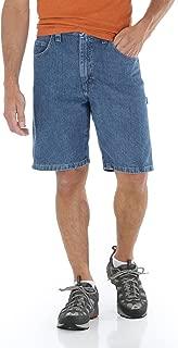 Wrangler - Men's Denim Carpenter Shorts (46 Blue)
