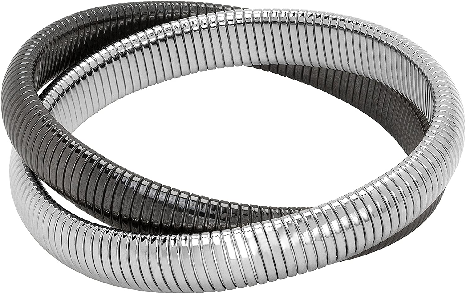 JANIS At the price of surprise Direct sale of manufacturer BY SAVITT High Polished Bracelet Double Cobra