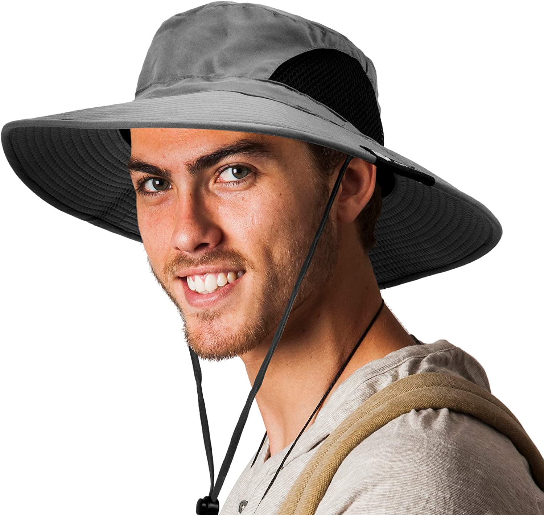 sale SUN CUBE Fishing Hat Wide Brim Safari Boonie Pro Sun Hiking Limited price sale