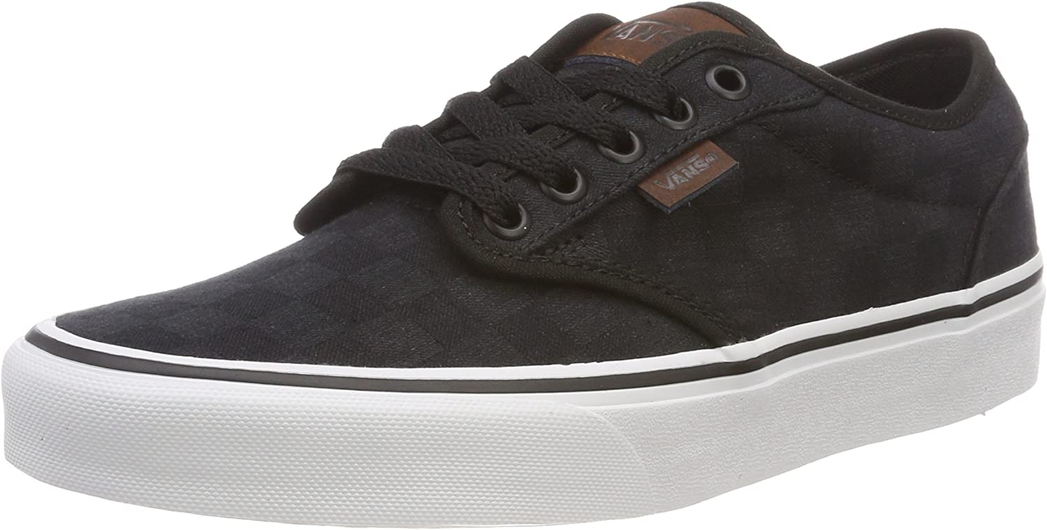 Vans Men's Atwood Checkerboard Low-Top Sneakers