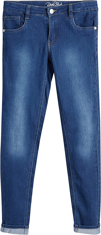 Real Love Girls' 5 Pocket Vintage with Jeans Skinny Indefinitely S Outlet ☆ Free Shipping Denim