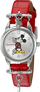Disney Women's Quartz Red Casual Watch (Model: MCK766)