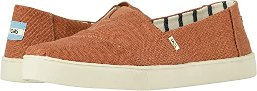 Almond Heritage Canvas Cupsole
