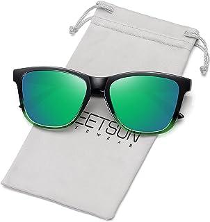 Polarized Sunglasses for Women Men Classic Retro Designer...