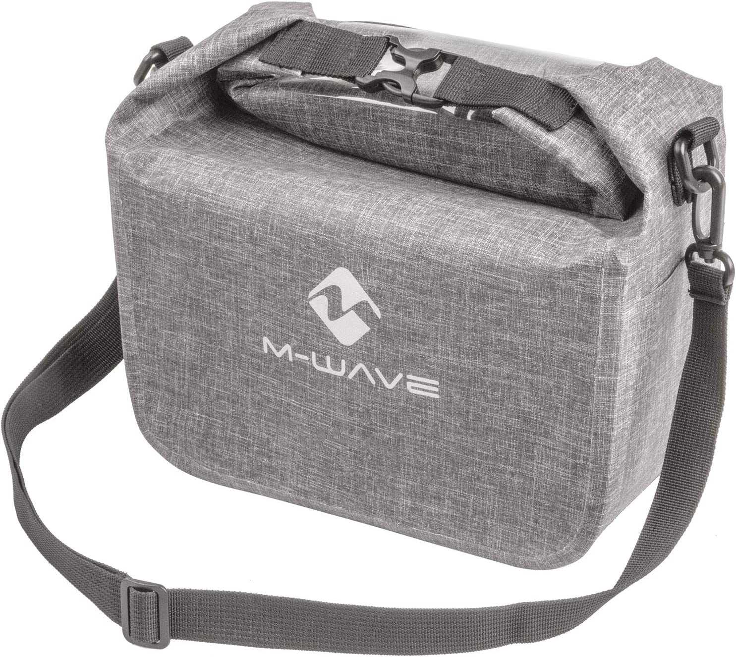 M-Wave Unisex's Suburban Front Credence Bicycle Handlebar Attention brand Grey Bag Appr