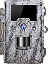 OUDMON Trail Game Camera 16MP 1080p 30fps FHD IP67 Waterproof Wildlife Scouting Hunting Cam with 940nm 48Pcs No Glow IR LEDs Motion Activated Night Vision 2.4