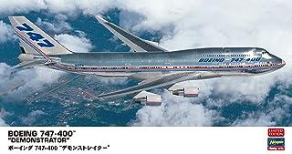 ハセガワ 1/200 ボーイング 747-400 デモンストレイター プラモデル 10832