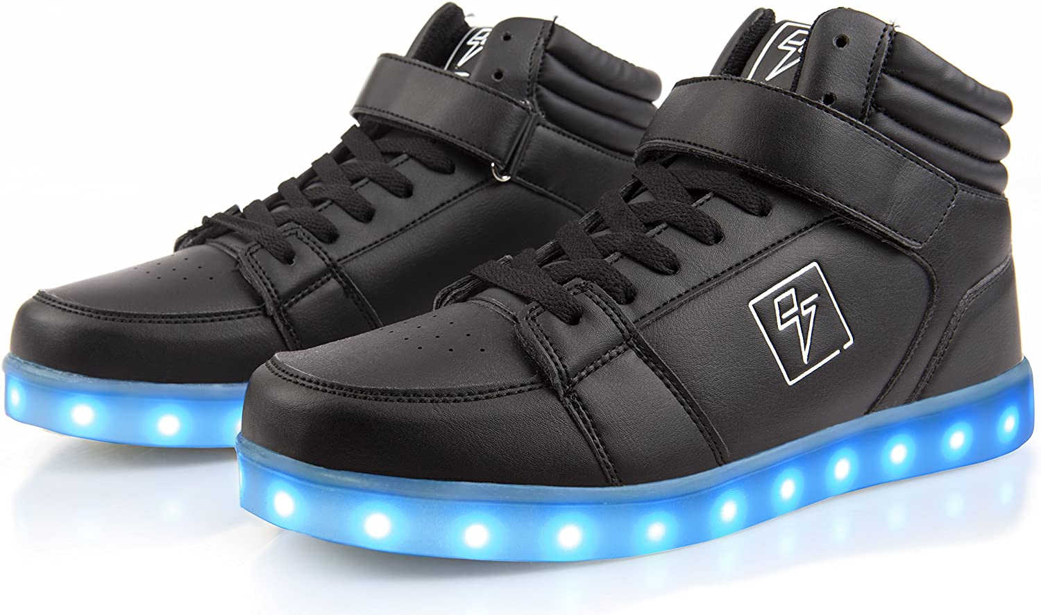 Electric styles LED High Top Glow Sneakers