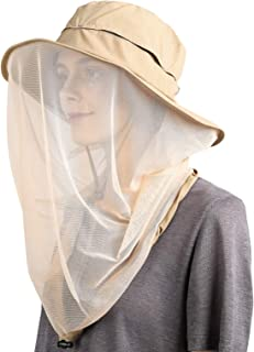 Flammi UPF 50 Plus Sun Hat with Net Boonie Hat Outdoor for Women and Men