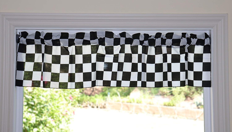 lovemyfabric New item Poly Cotton Checker Board Flag Max 58% OFF Race Chess Pri
