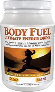 Andrew Lessman Body Fuel 60 Servings, Lemon-Lime Flavor – Nutritious Blend of Complex Carbohydrates and Fructose for Immed...
