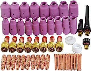 TIG Back Cap boquillas de cerámica Cup Gasket Kit Fit DB SR