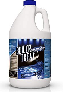 BOILER TREAT ULTRA Multi Purpose Boiler Water Treatment - 1 Gallon   Prevents Scale & Lime in Steam Boilers, Hot Water Systems, Closed Loop Systems & Wood Burning Boilers