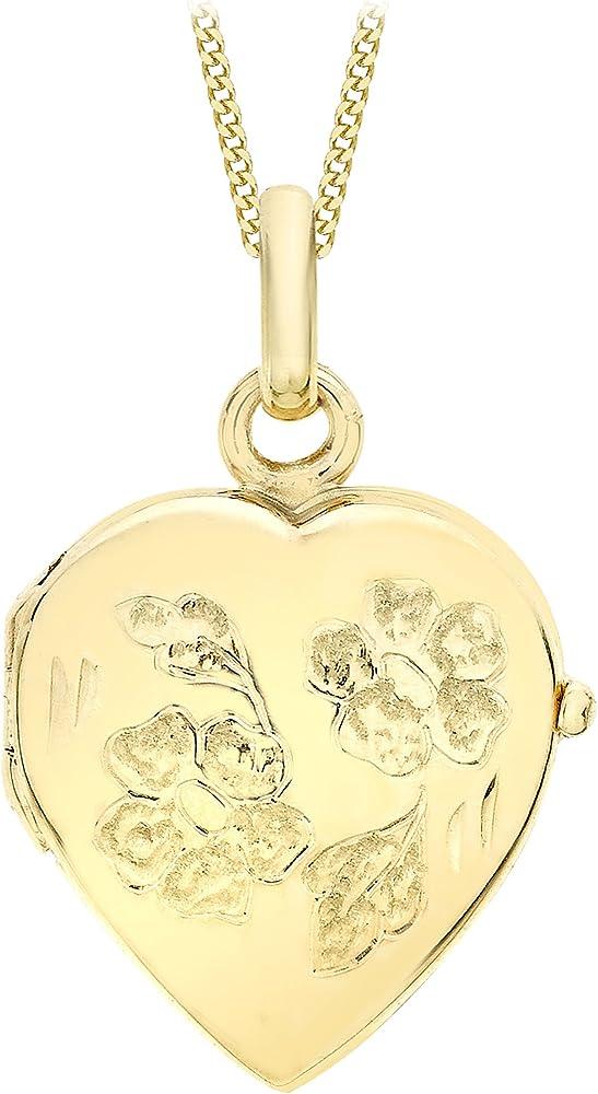 Carissima gold collana per donna con pendente in oro giallo 9k (375) (2.75 grammi) 1.43.7274