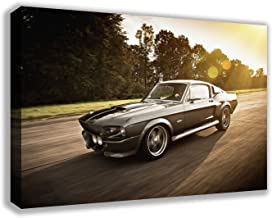 1967 FORD MUSTANG SHELBY GT500 ELEANOR CANVAS WALL ART (30