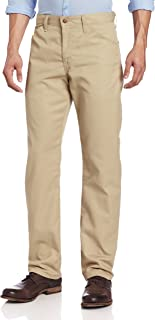 Dickies Men's Slim Straight Fit Light Weight 5-Pocket Twill Pant