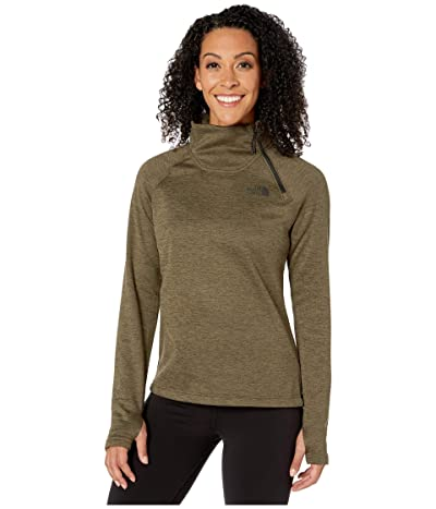The North Face Canyonlands 1/4 Zip (New Taupe Green Heather) Women