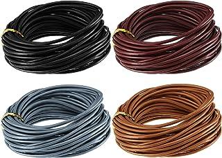 4 Yard Bundle 2mm Hot Pink Round Leather Cord 2RLC06