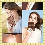 Collage di foto al cioccolato