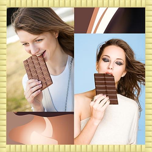Schokoladen-Foto-Collage