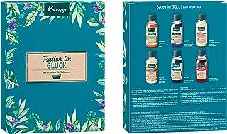 Kneipp Badkamerverzorgingsset, Geschenkverpakking, Baden In Geluk, 6 x 20 ml